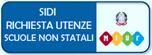 Logo con scritta SIDI richiesta utenze scuole non statali