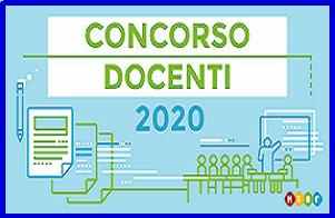 Concorso straordinario 2020 ruolo</br> D.D. 510 del 23 aprile 2020 </br> D.D. 783 dell'8 luglio 2020